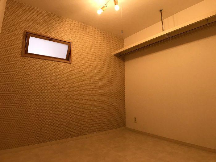 洋室はオープンクローゼットも