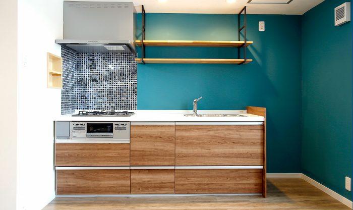ビッグバーンズマンション北郷ⅢA 202号室 戸建用システムキッチンを賃貸に採用