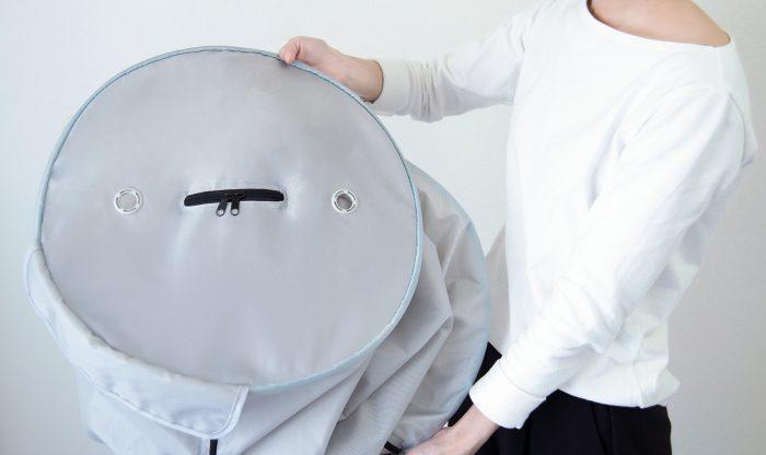 コンパクト衣類乾燥機 コンパクトに収納