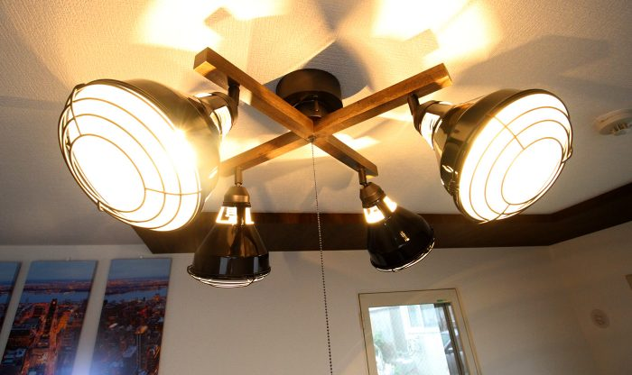 フェリーチェN36 105号室 照明