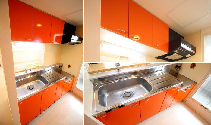 フェリーチェN36 301号室 キッチン