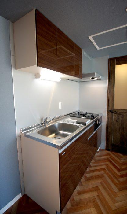 dole tukisamu(ドーレ月寒) 1号室タイプ キッチン