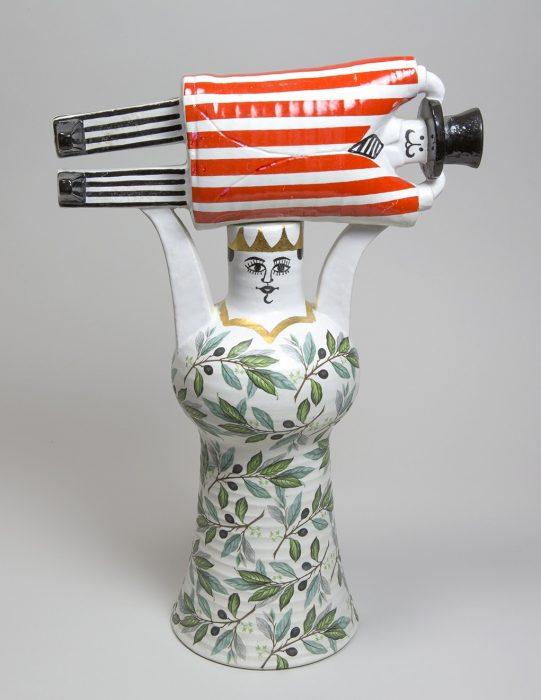 《社会討論(大)》 1969~1971年 陶器 鋳込み成形 © Lisa Larson/Alvaro Campo