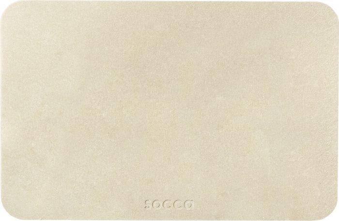 socca(ソッカ)珪藻土バスマット PLAIN(プレーン)